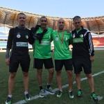 Entrenamientos Selección Nacional Argelia. Cuerpo Técnico. Partido de clasificación para la Copa del Mundo 2018. Zambia-Argelia. Septiembre 2018.