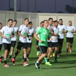 Entrenamientos Selección Nacional Argelia de Jugadores Locales. Agosto 2017